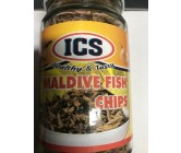 Ics Maldive Fish Chips Bottle  175g