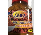 King Agro Rstd Chillie Powder 500g