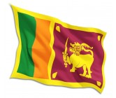 Sri Lanka National Flag Large