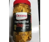 Derana Fried Breadfruit Chips Spicy 200gm