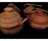Clay Pans - 8 inch (Only pans)