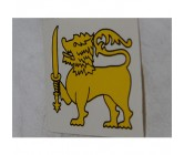 Sticker Lion Gold