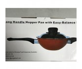 Easy Balance Long Handle Hopper Pan (non Stick)
