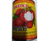 Awona Lychee In Syrup 567g