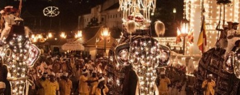 The Esala Perahera in Kandy