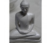 Load Buddha Statues Medium White