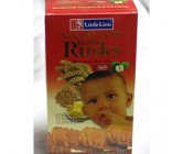 Little Lion Apple Rusk 110g