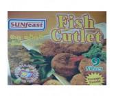 Sunfeast Fish Cutlets Frozen 454g